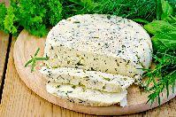 Сыр домашний с укропом